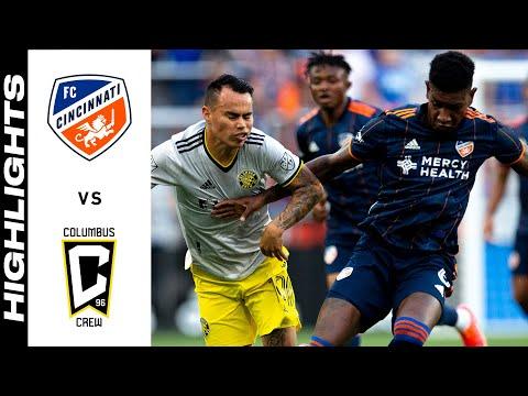 HIGHLIGHTS: FC Cincinnati vs. Columbus Crew   July 09, 2021