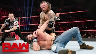 Aleister Black debuts on Raw against Elias: Raw, Feb. 18, 2019