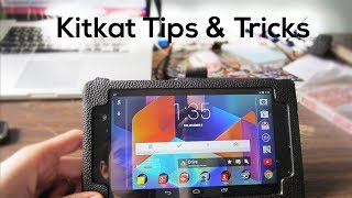 Android Kitkat Tips & Tricks!