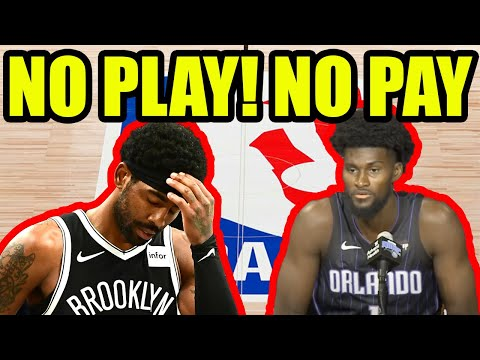 NBA says NO PAY for Unvaxxed players who DO NOT comply with Local Jab Mandates!