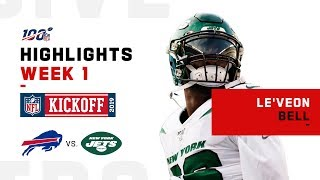 Le'Veon Bell's Jets Debut | NFL 2019 Highlights
