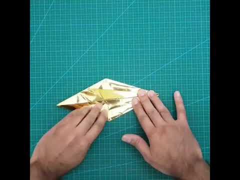 Origami Crane Time-Lapse