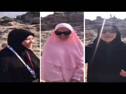 Kantoi ibu Fazura doa semoga jodoh anaknya dan Fattah Amin berkekalan..Aminn