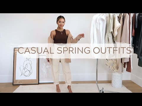 casual-spring-outfits- -fashion-lookbook-2020