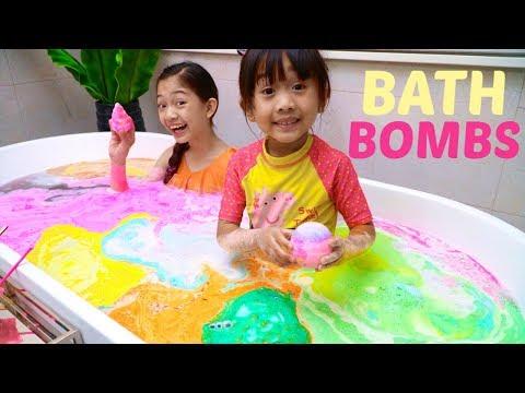 Marble Bath bombs
