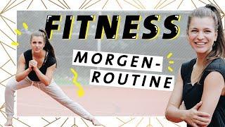 Fitness Morgenroutine für Anfänger   10 Minuten zum Mitmachen   Perfekter Start in den Tag