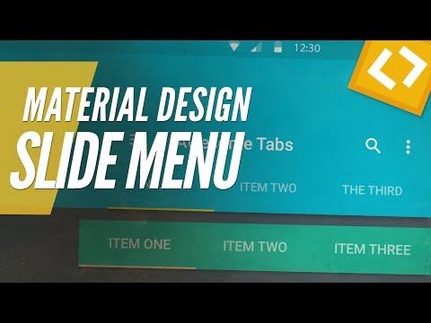 MATERIAL DESIGN SLIDE TAB MENU (HTML5/CSS3/JQUERY)