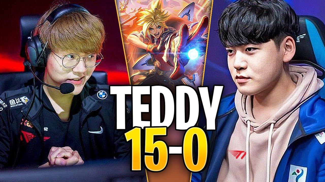 T1 TEDDY se ENCONTRÓ con T1 GUMAYUSI en RANKED!!   SoloQ Highlights