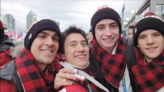 On The Road - Patrick Chan meets Sidney Crosby