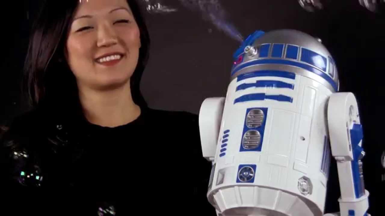 Star Wars R2-D2 Bubble Maker