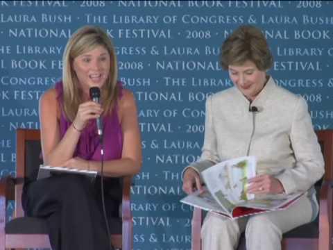 Laura And Jenna Bush National Book Festival 2008 Youtube