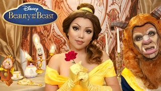 'Beauty and the Beast' Belle Makeup Tutorial !!!