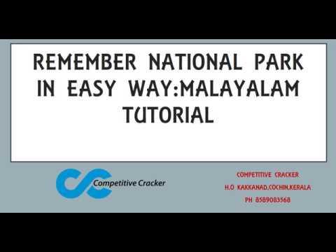 PSC/SSC/BANK EXAMS -NATIONAL PARK SHORT CUT-