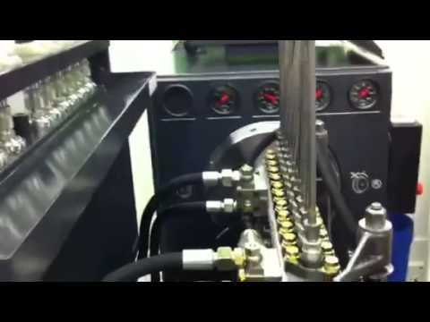 Стенд для проверки топливных насосов EPS 815_BOSCH, Германия скачать