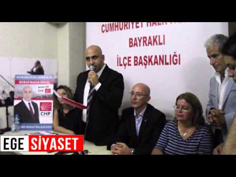 Bayraklı Adayı Murat Haluk ÖNCEL'e Yoğun İlgi