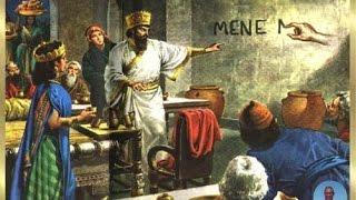 Caída de Babilonia (Conquista Medo-Persa; Escritura en la P...