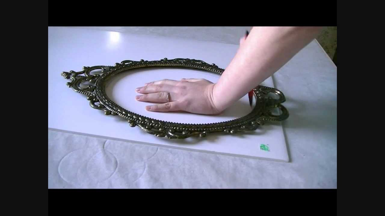 How to make a Pin Board out of an Old Frame