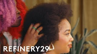 I Got Red Box Braids For The First Time | Hair Me Out | Refinery29