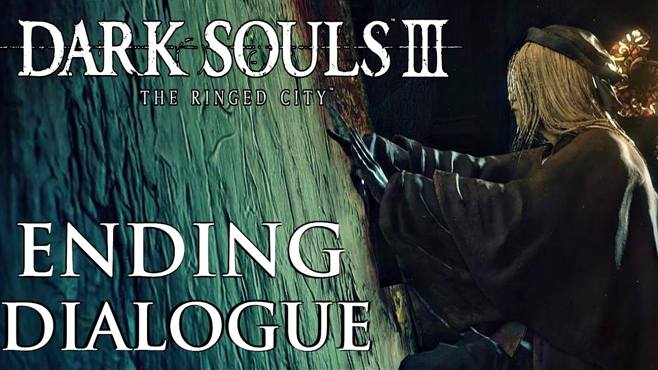 Dark Souls 2 Review Not The End: True Ending Dialogue Options