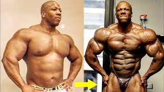 Shawn Rhoden Then And Now - Best Body Transformation Of A Mr. Olympia