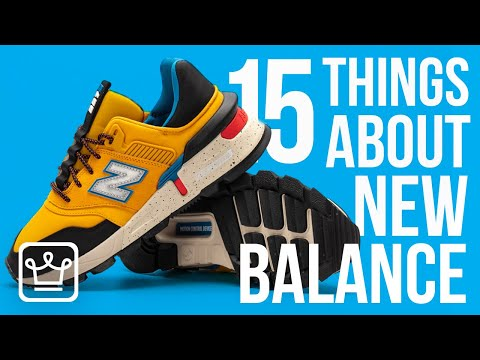 15 Things You Didn't KnowAbout NEW BALANCE from YouTube · Duration:  13 minutes 22 seconds