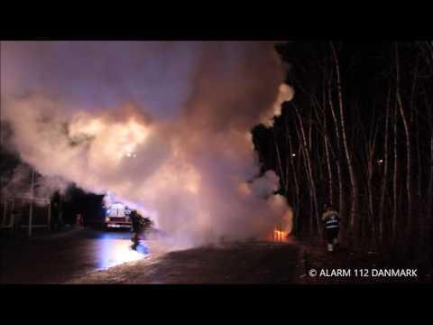 18.02.2017 Bil brændt af, Vallensbæk