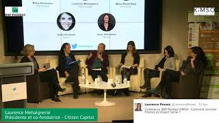 Café Impact #5 - 2ème partie : Table ronde financeurs