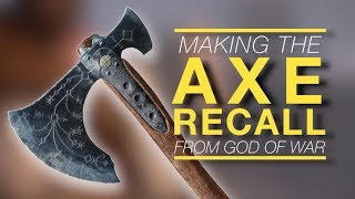 Making God Of War's Axe Recall sound with just an iPhone mic
