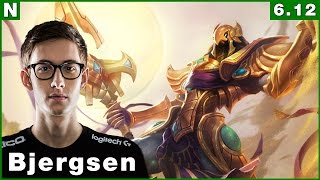 156 tsm bjergsen vs tl fenix azir vs anivia mid june 21st 2016 season 6 patch 6 12