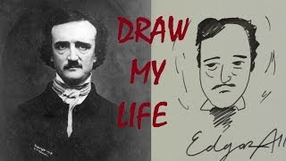 Socially Awkward Edgar Allan Poe: DRAW MY LIFE [Ep. 9]