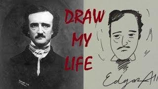Socially Awkward Edgar Allan Poe: DRAW MY LIFE [Ep. 9]