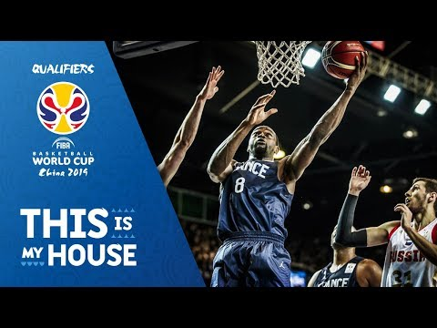 France v Russia - Highlights - FIBA Basketball World Cup 2019 - European Qualifiers