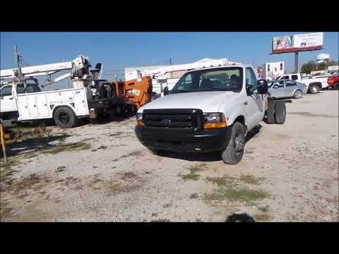 1999 Ford F350 Super Duty cab and chassis for sale   no-reserve Internet auction November 29, 2017