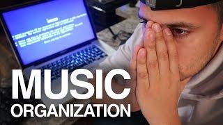 How I Organize My Music Library | BROKE My MacBook Pro