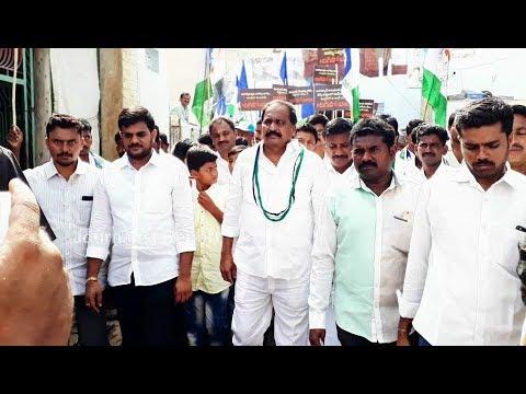 YSRCP Silpa Chakrapani Reddy Padayatra in Allagadda for Support to YS Jagan Mohan Reddy