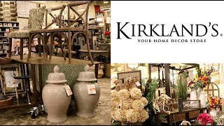SHOP WITH ME & MY HUSBAND AT KIRKLANDS (HOME DECOR STORE) 🏡 1st time been in this store 😱