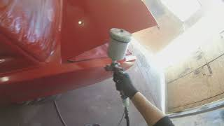 Капитальный ремонт ваз 2107 (покраска)