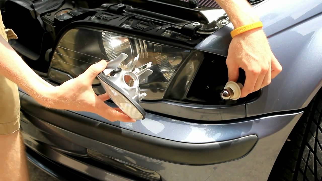 Bmw E46 Clear Parking Lenses Install Tutorial Youtube