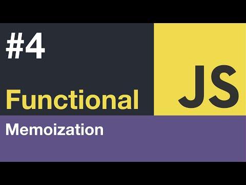 Functional JavaScript Tutorial - #4 Memoization thumbnail