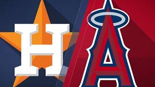 A-Breg, Tuve and Margo power Astros, 8-3: 8/25/18