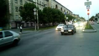 Автопробег в Запорожье за Единую Украину(Extra tags: новости, обама, путин, война, крым, россия, украина, вторжение,