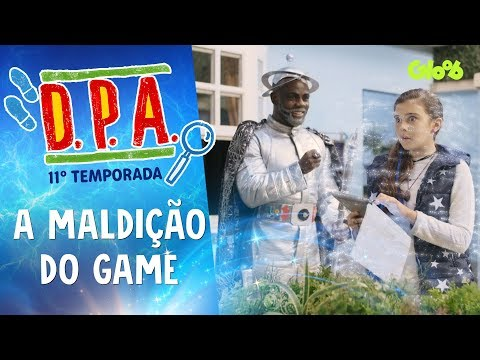 A MALDIÇÃO DO GAME | D.P.A. | 11ª TEMP. | Mundo Gloob