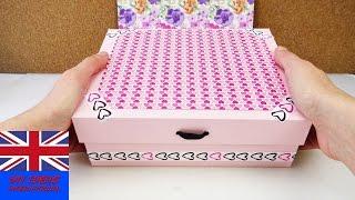 Dekorative Aufbewahrungsbox – DIY Karton-Idee – Sichere Aufbewahrung Für Make up, Stifte, Geheimnisse