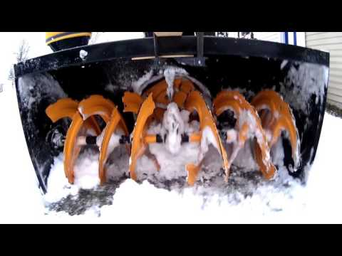 Biggest Best Most Powerful Snowblower 45 inch Craftsman Snowthrower