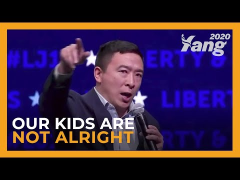 Our Kids Are Not Alright | Andrew Yang In Iowa (Full Speech)