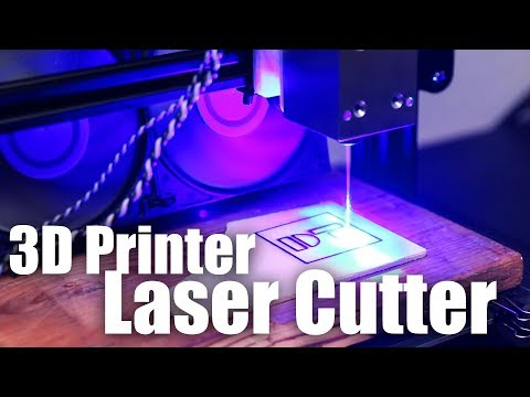 10W LASER CUTTER on your  3D PRINTER! - Endurance Laser Review