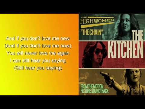 "The Highwomen - The Chain (Lyrics HD) Soundtrack Of ""The Kitchen"""