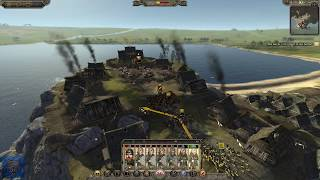 EPIC LAST STAND Total War Attila Age of Vikings Wales Kingdom of Gwined C aign Gameplay 4