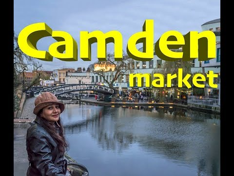 Camden Market/Camden Lock/Shoppers Paradise In London/Walk around Camden Market