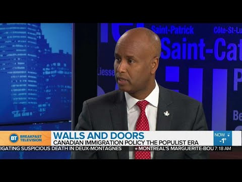 Walls and doors: Canadian immigration policy in populist times